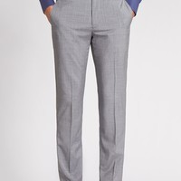 Work Day Wool Slim - Light Grey