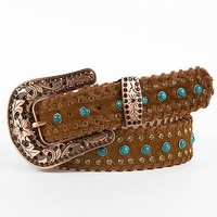 Angel Ranch Leather Belt