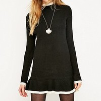 UNIF Mistral Long Sleeve Turtleneck Dress - Urban Outfitters