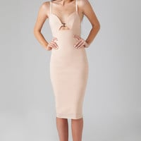 Bec & Bridge Love In Vain Dress in Blush