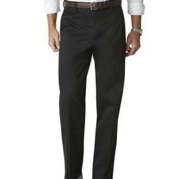 Signature Khaki Pants, Relaxed Fit - Dockers Navy - Men's