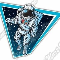 "Astronaut Space Nasa Spacecraft Star Car Bumper Window Vinyl Sticker Decal 4""X5"""