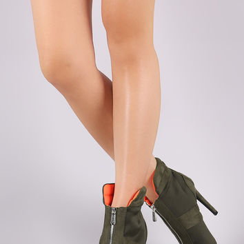 Zip-Up Stiletto Booties | UrbanOG