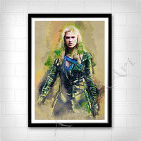 Clarke, The 100, Clarke Griffin, Instant Download, The 100 poster, Clarke poster, Clarke Griffin print, The 100 printable, teen room poster