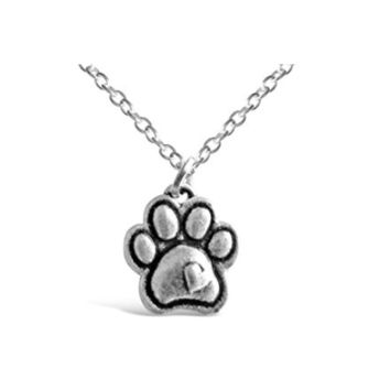Vintage Dainty Dog Paw Necklace