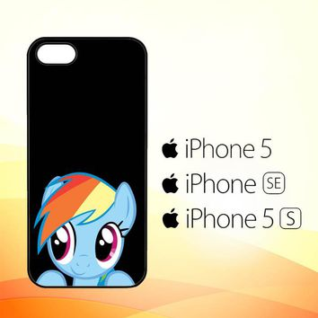 MLP rainbow dash R0198  iPhone 5|5S|SE Case