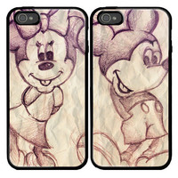 Mickey And Minnie Mouse Custom couple Case for by viagrashop