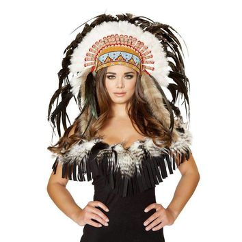 Roma Costume H4471 Native American Headdress