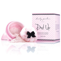 Booty Parlor Dust Up Kissable Body Shimmer - Candy Pink