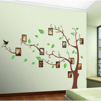 Memory tree Frame tree-wall decals wall sticker wall decal