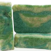 Avacado & Aloe Soap, Cold Process Soap, Moisturizing