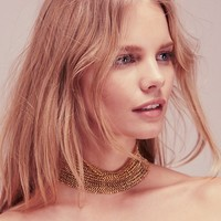 Free People Mega Metal Mesh Choker