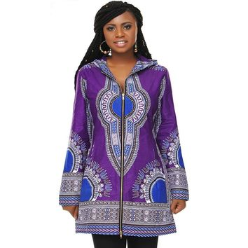 Gabrielle African Print Casual Jacket