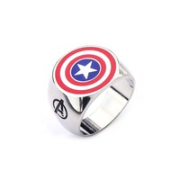 Captain America Ring - Jewelry - Accessories