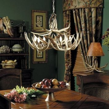 """The Teton"" Antler Chandelier"