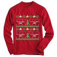 Star Trek Ugly Christmas Sweater