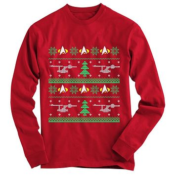 Star Trek Ugly Christmas Sweater-On Sale