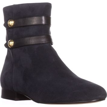 MICHAEL Michael Kors Maisie Flat Ankle Booties, Admiral, 11 US / 42.5 EU
