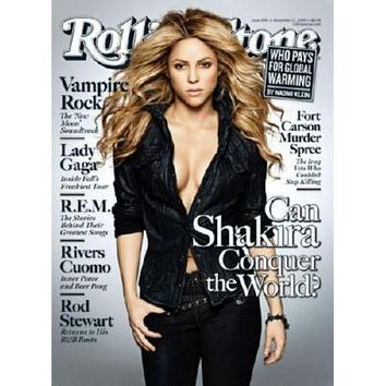 Shakira Poster Rolling Stone Cover 27inx40in