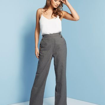 Lost Ink Wide Leg Trousers