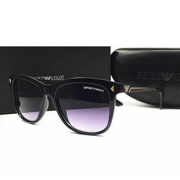 Perfect Armani Women Casual Summer Sun Shades Eyeglasses Glasses Sunglasses