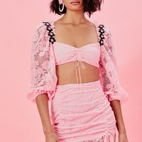 Lafayette Crop Top – For Love & Lemons