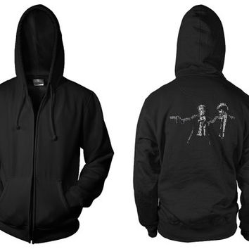 Pulp Fiction: Jules And Vincent Movie Pullover/Zip-Up Hooded Top
