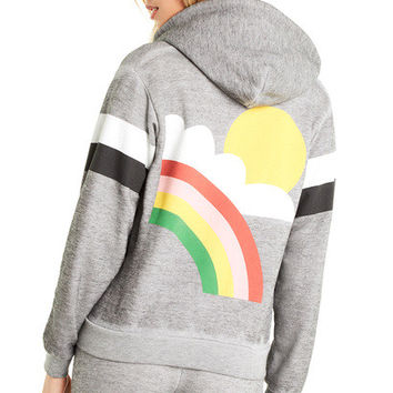 Rain or Shine Regan Zip Hoodie - Wildfox