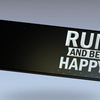 Running Bib Holder, Running Medal Holder, Racing Medal Holder, Bib Holder, Bib Hanger, Racing Bib Holder, Run and be happy