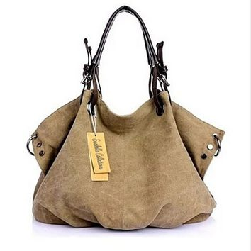 JOURNEY COLLECTION Canvas Handbag