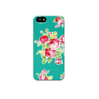 FLORAL BLUE iPhone 5, 5s, iPhone 6, 6+ Case Girly Boho