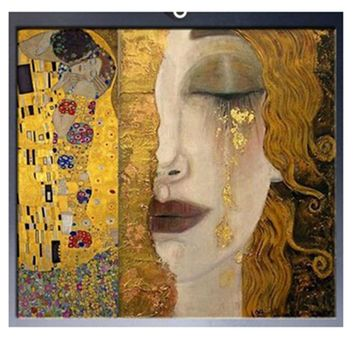 3D Diamond Painting Cross Stitch Pattern  Diamond Embroidery Gustav KLIMT Mosaic Resin Full Drill Home Decor DIY Painting WQ01