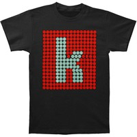 Killers Men's  K Glow T-shirt Black Rockabilia