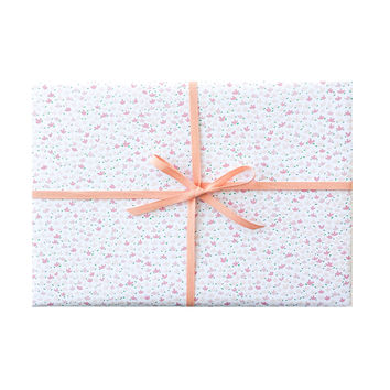 Pink Floral Wrapping Sheets