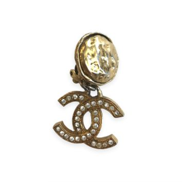 Chanel Vintage Clip On Earring