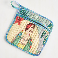 Paint Me a Picture Pot Holder | Mod Retro Vintage Kitchen | ModCloth.com