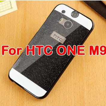 New Bling Luxury Case For HTC One M7/M8/M9 Shinning back cover Sparkling case Ultra Thin Cover
