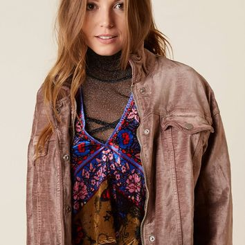 Free People Trucker Jacket - Women's Coats/Jackets in Mauve | Buckle