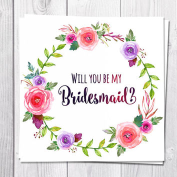photograph about Will You Be My Bridesmaid Printable identify Excellent Will On your own Be My Bridesmaid Playing cards Goods upon Wanelo