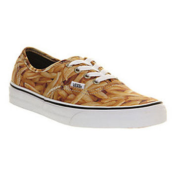 Vans AUTHENTIC FRENCH FRIES EXCLUSIVE Shoes - Vans Trainers - Office Shoes