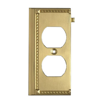 Elk Lighting 2506BR Brass End Switch Plate
