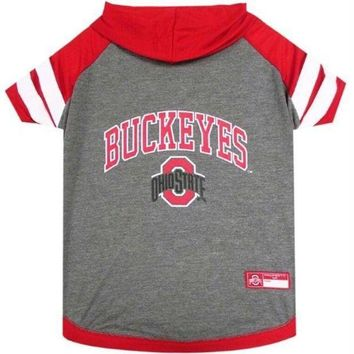 DCCKT9W Ohio State Buckeyes Pet Hoodie T-Shirt