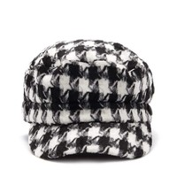 Houndstooth Cabby Hat