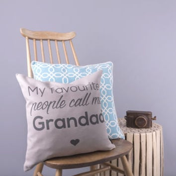 'Favourite People' Cushion Cover