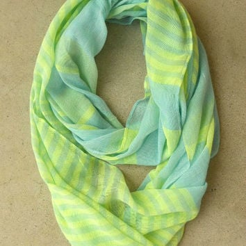 .Scoop of Sorbet Infinity Scarf [4457] - $16.00 : Vintage Inspired Clothing & Affordable Dresses, deloom | Modern. Vintage. Crafted.