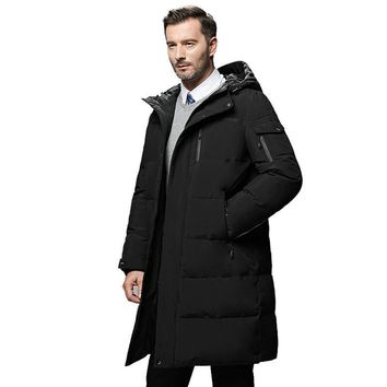 Trendy Waterproof thick winter men down jacket brand-clothing hooded warm duck down coat male puffer jacket Male Windproof Parka 866 AT_94_13