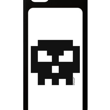 Retro 8-Bit Skull iPhone 5 / 5S Grip Case  by TooLoud