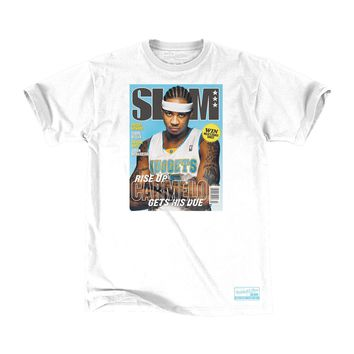 Mitchell & Ness x SLAM Magazine Cover Denver Nuggets Carmelo Anthony T-Shirt