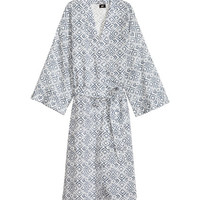 H&M Patterned Bathrobe $29.99