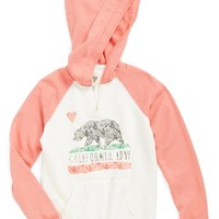 Girl's Billabong 'Day Away' French Terry Pullover Hoodie,